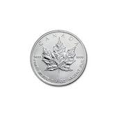 Canadian Maple Leaf - Silver