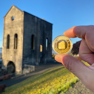 Waihi Pumphouse 1oz Gold coin