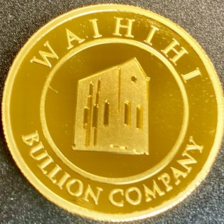 The Waihi Pumphouse 1oz Gold Coin